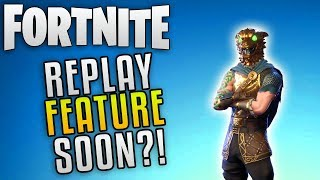 """Fortnite Battle Royale Replay Feature """"Fortnite Battle Royale Update"""" Fortnite Battle Royale News"""