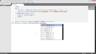 PHP Data Objects (PDO): Getting row count (Part 8/8)