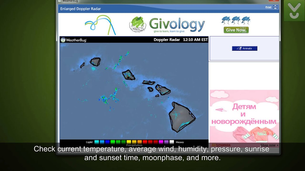 WeatherBug - Be aware of the current weather situation - Download Video  Previews