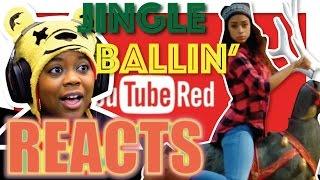 Jingle Ballin' | Feat Liza Koshy | YouTube Red Reaction | AyChristene Reacts