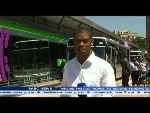 Bus Rapid Transit system launched in Pretoria