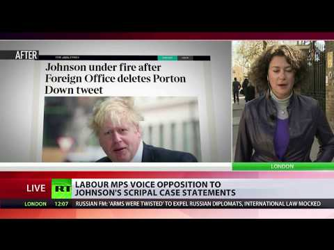 Labour MPs react to Johnson\'s Skripal case statements
