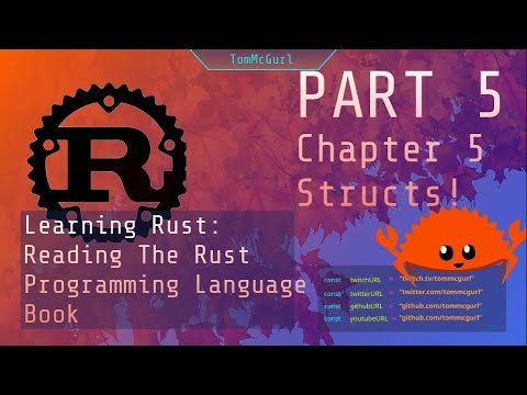 Learn Rust Together: Structs and Enums - Part 5