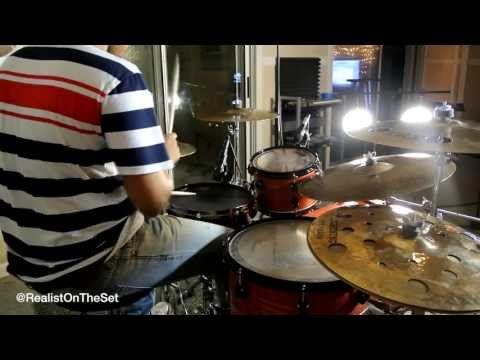 Ready For The World - Oh Sheila (Drum Cover) @RealistOnTheSet