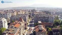 Flâneries Genève - Rue de Saint-Jean vu du ciel