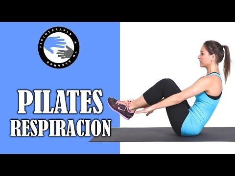 Pilates suelo por fisioterapeutas, aprende a aumentar la dificultad con la respiracion