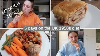 5 days of eating a 1950s diet...and here's what happened...