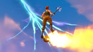 I used Rockets to Fly to the Crack in Fortnite Battle Royale