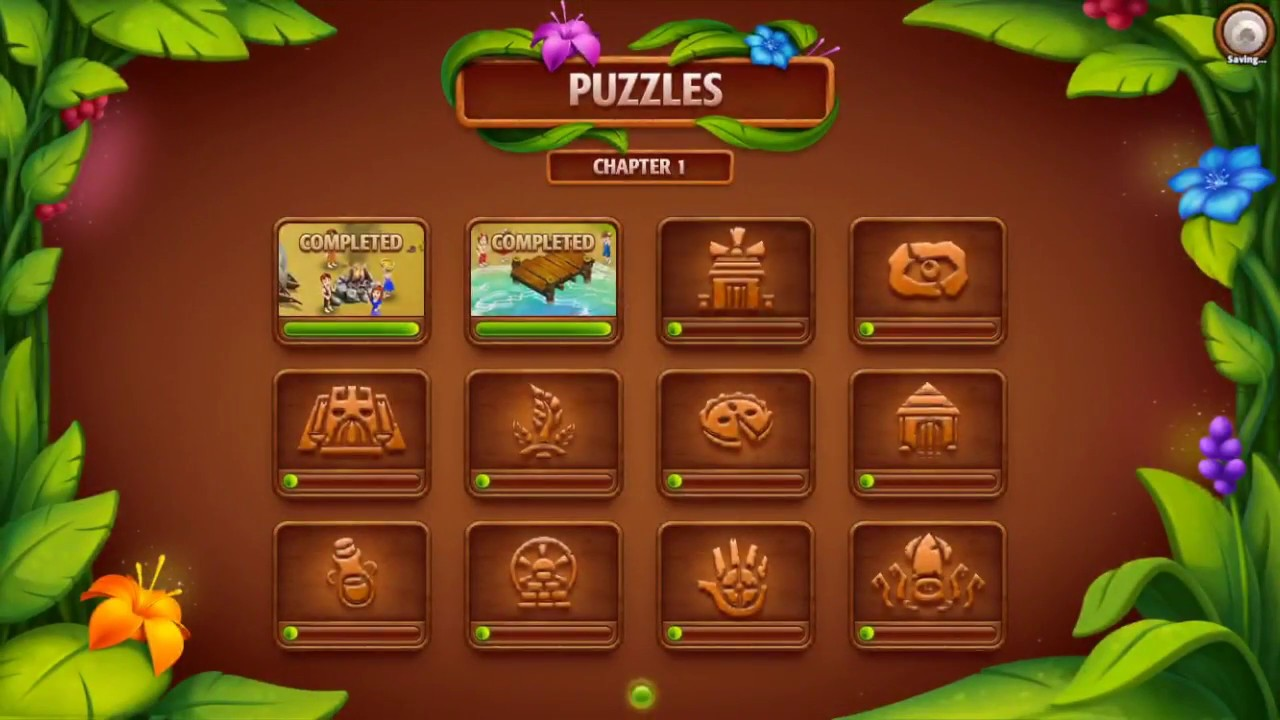 Virtual Villagers Origins 2 Puzzle 3 Crafting Hut Youtube