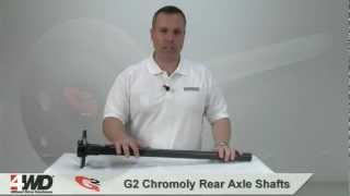 g2 chromoly rear axle shafts