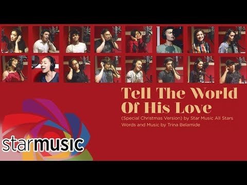 Tell The World of His Love - Star  All Stars  Recording Session