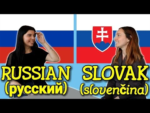 Similarities Between Russian And Slovak