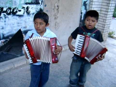 Mexican Boys Sing & Play Accordions