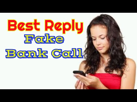 Best Reply Fake Bank Call In Hindi Language