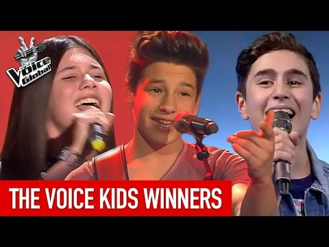 The Voice Kids | BEST WINNERS From Around The World [PART 1]