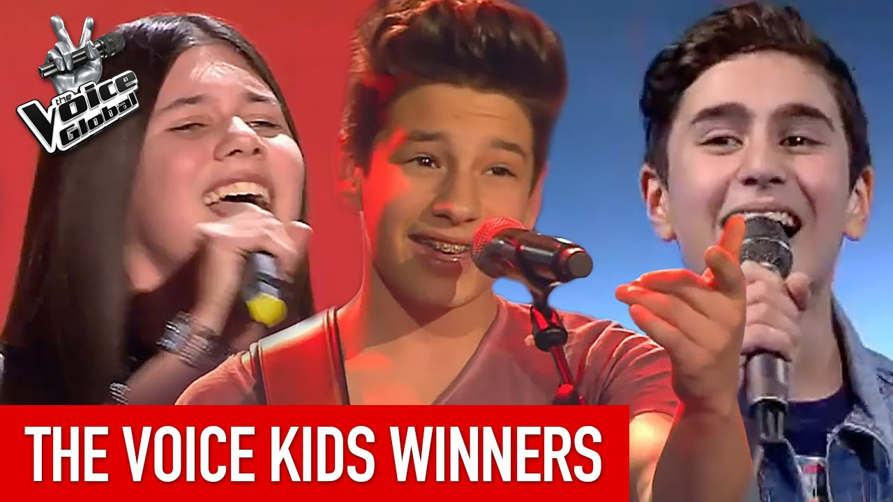 The Voice Kids   BEST WINNERS from around the world [PART 1]