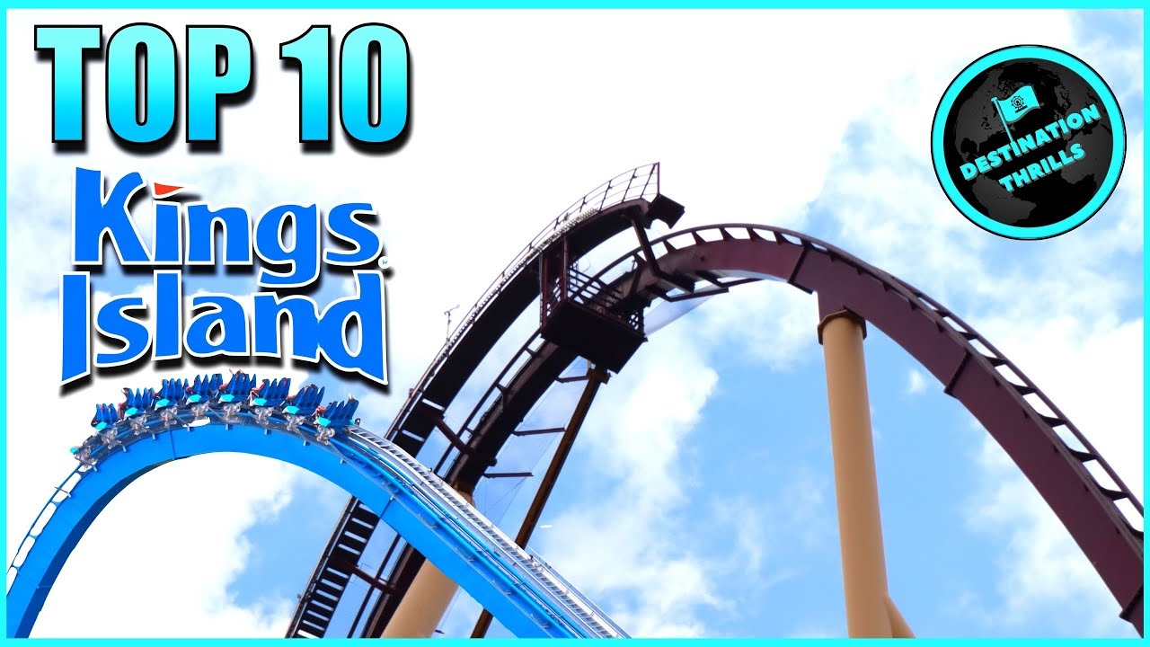 Top 10 Roller Coasters at Kings Island (2021)