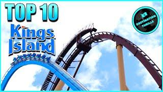 Top 10 Roller Coasters at Kings Island (2021)