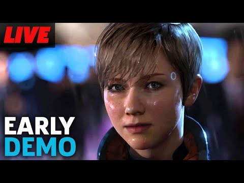 Testing Out Detroit Become Human Demo Live