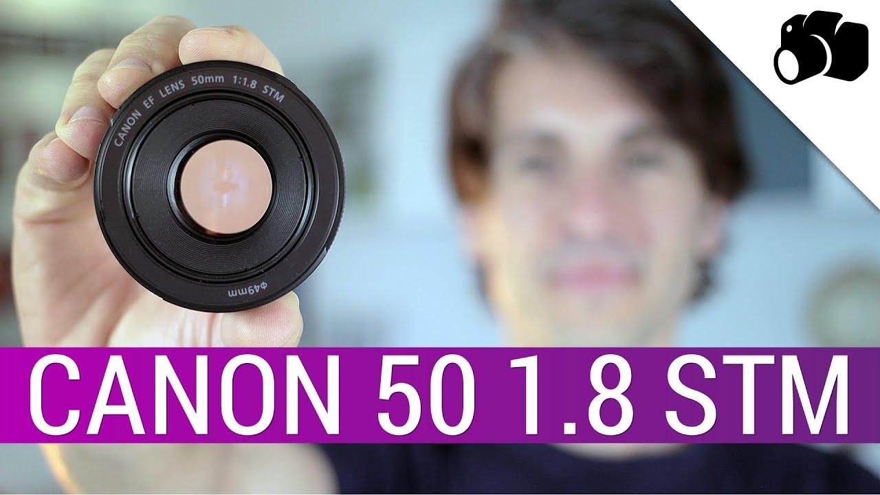 canon ef 50mm f 1 8 stm la recensione di youtube. Black Bedroom Furniture Sets. Home Design Ideas