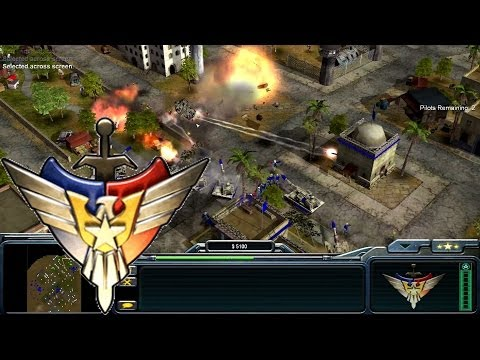 how to play command and conquer generals online
