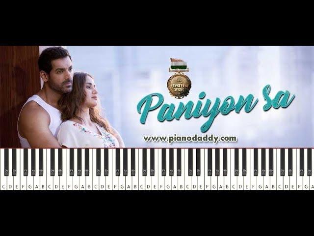 Paniyon Sa (Satyameva Jayate) Piano Tutorial ~ Piano Daddy