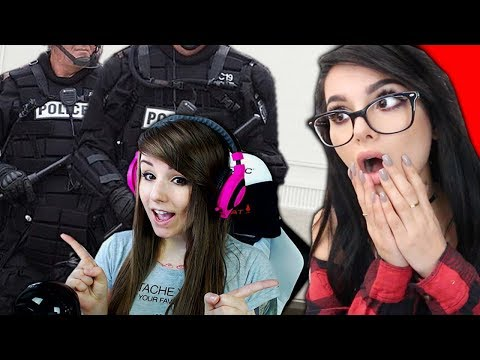 Streamers That Got SWATTED Live