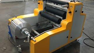 OGM TK ALUMINIUM  FOIL REWINDING MACHINE