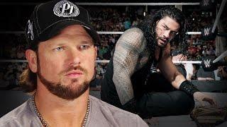 بالفيديو- إيه جي ستايلز يكشف عن سر رغبته الشديدة في اقتناص بطولة WWE من رومان راينز