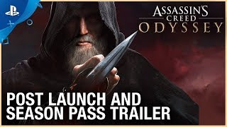 Assassin's Creed Odyssey - Post Launch & Season Pass Trailer   PS4