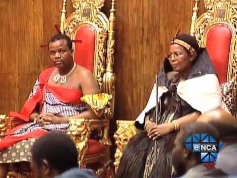 eNCA   Swazi King Pledges to Decrease Royal Spending