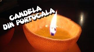 CANDELA DIN PORTOCALA !!! - DIY- Cum Sa Faci #CuDragDeStiinta EP.100