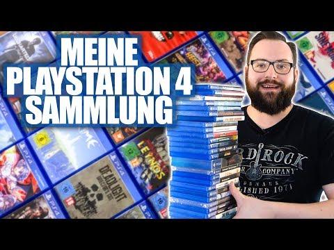 Marcel zeigt seine PS4-Sammlung|SONY Playstation 4 Collection