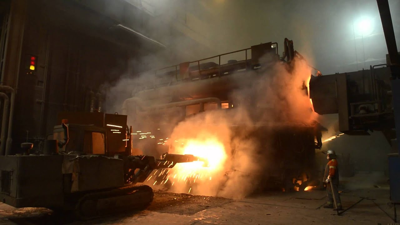 Online Job Search >> Deutsche Edelstahlwerke Witten: Stahlproduktion im ...
