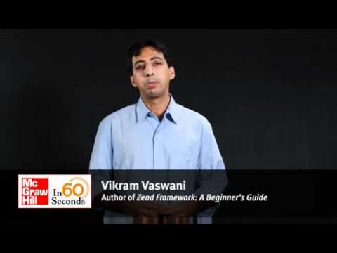 Vikram Vaswani, Author Of Zend Framework: A Beginner's Guide