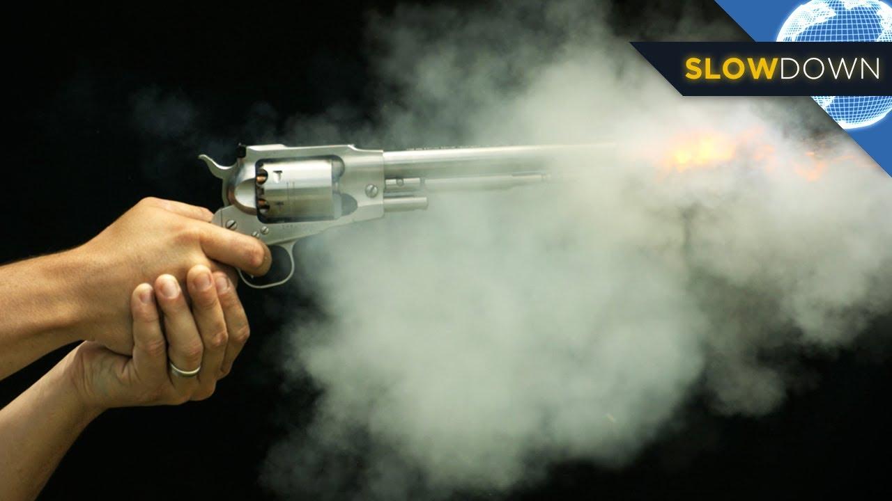Slow Motion Bullets How Do Guns Work  YouTube