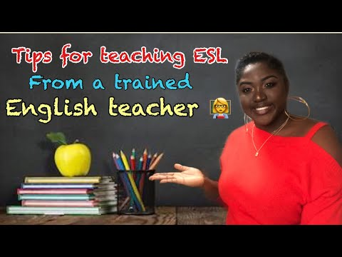 Tips for teaching English as a second language from a trained English Teacher  BONUS  ACTIVITIES