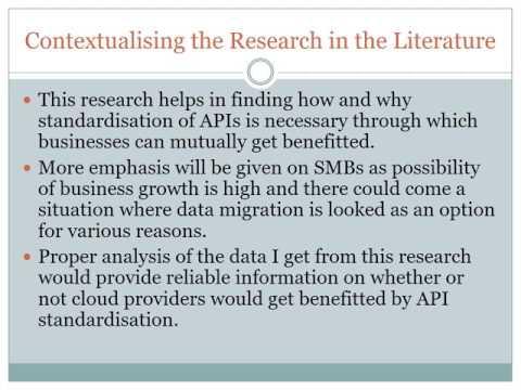 Open API standards: Vendor Lock-in