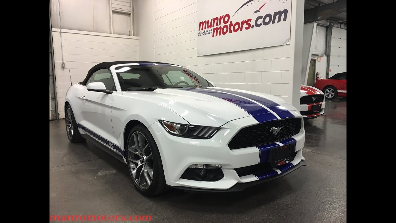 2015 ford mustang ecoboost sold sold sold premium navigation 20s munro motors