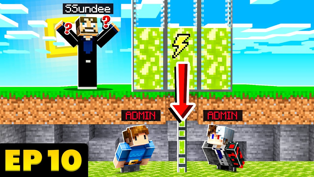 STEALING 1 MILLION POWER from SSUNDEE in SkyFactory w/ FRIENDS! - EP.10