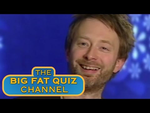 Thom Yorke's Amazing Laugh - Big Fat Quiz Of The Year