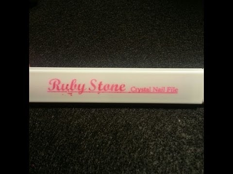 Ruby Stone Crystal Nail File Review