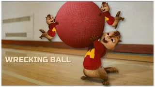 Baixar Wrecking Ball - Miley Cyrus | Alvin and the Chipmunks