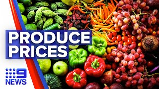 Coronavirus: Fresh produce prices could soar during restrictions | 9 News Australia