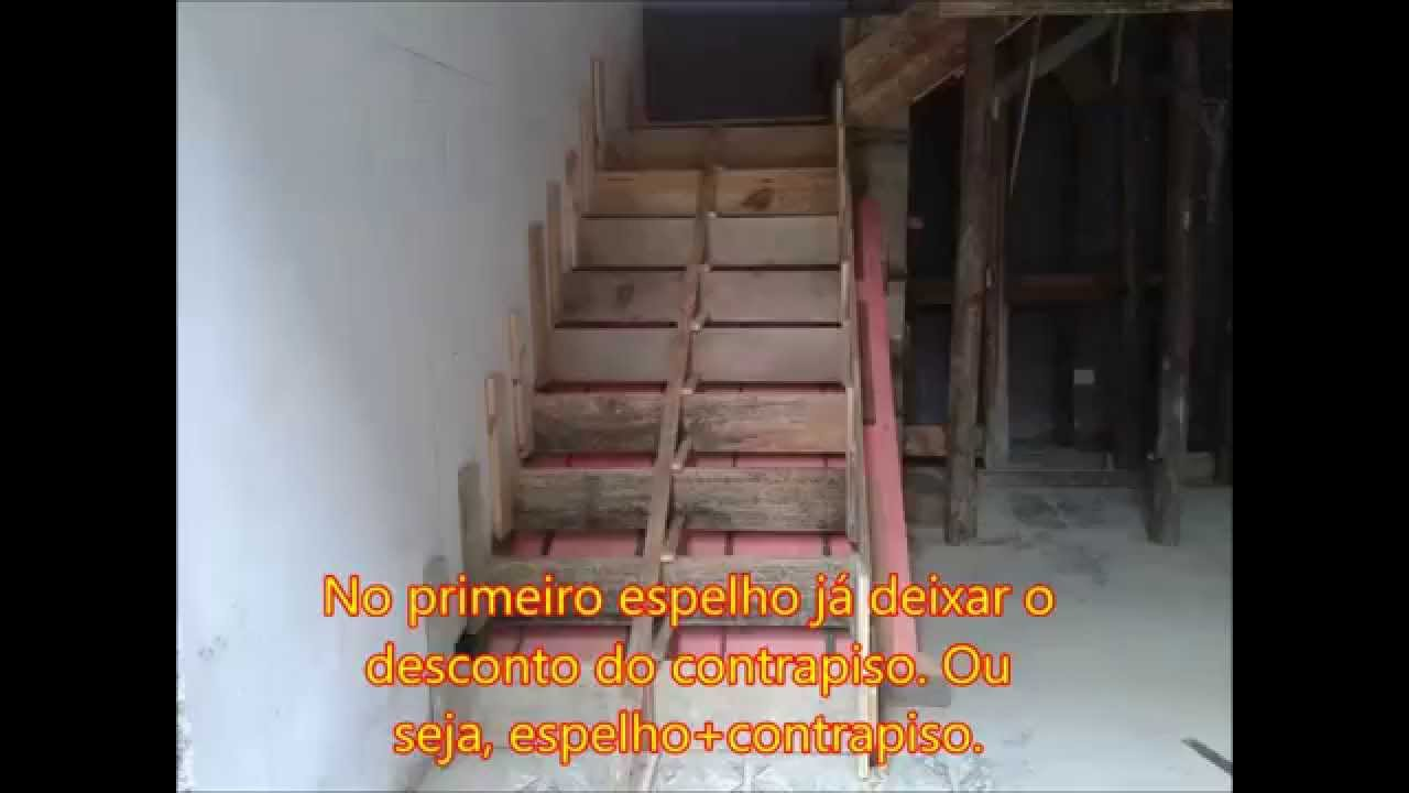69e8219c78 Aprenda Fazer Calculo de Escada. - YouTube