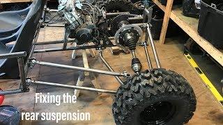 Honda CBR 600 buggy build part 5
