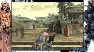 Metal Gear Solid Touch Walkthrough - Act 2 - Mission 7