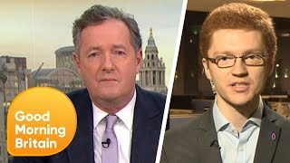 Piers Gets Into a Fiery Debate Over Scottish MP's Churchill Comments | Good Morning Britain