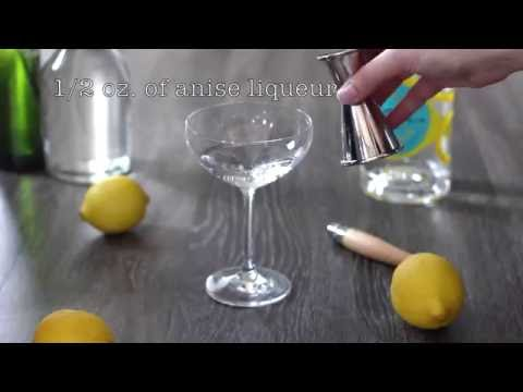 The Malfy Anise Cocktail - Gin And Vermouth Recipe Tutorial
