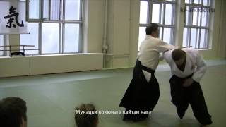 Ки-айкидо. Защита при нападении с мечом и ножом.